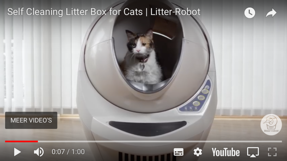 Litter Robot demo YouTube
