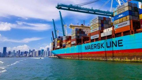 Maersk containerschip