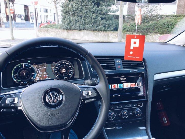 Poppy VW dashboard
