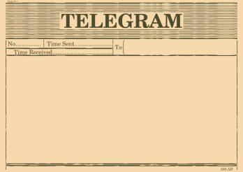 Telegram - oud