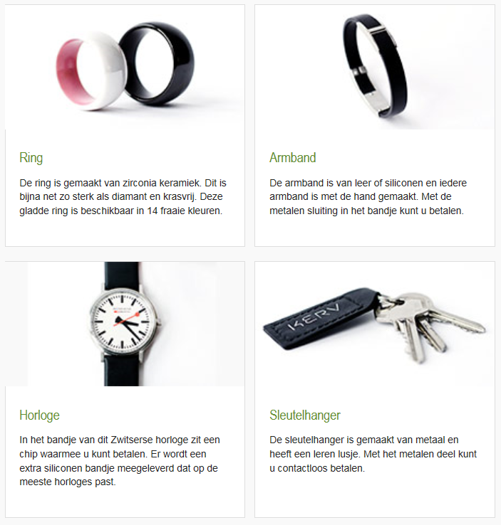 ABN Amro wearables