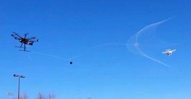 Drone vangnet 1