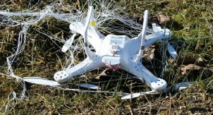Drone vangnet 3