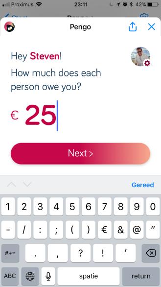 Pengo aanmaak betalingsverzoek (1)