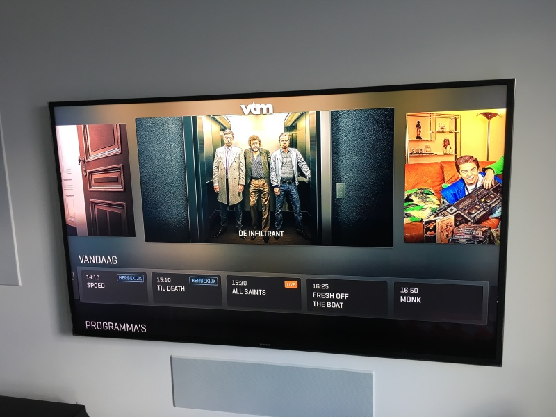 SmartTV WhatsNext redactie - VTMapp