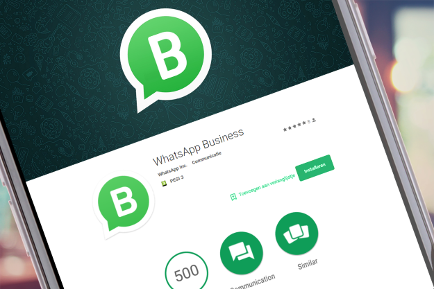 WhatsApp-Business scherm