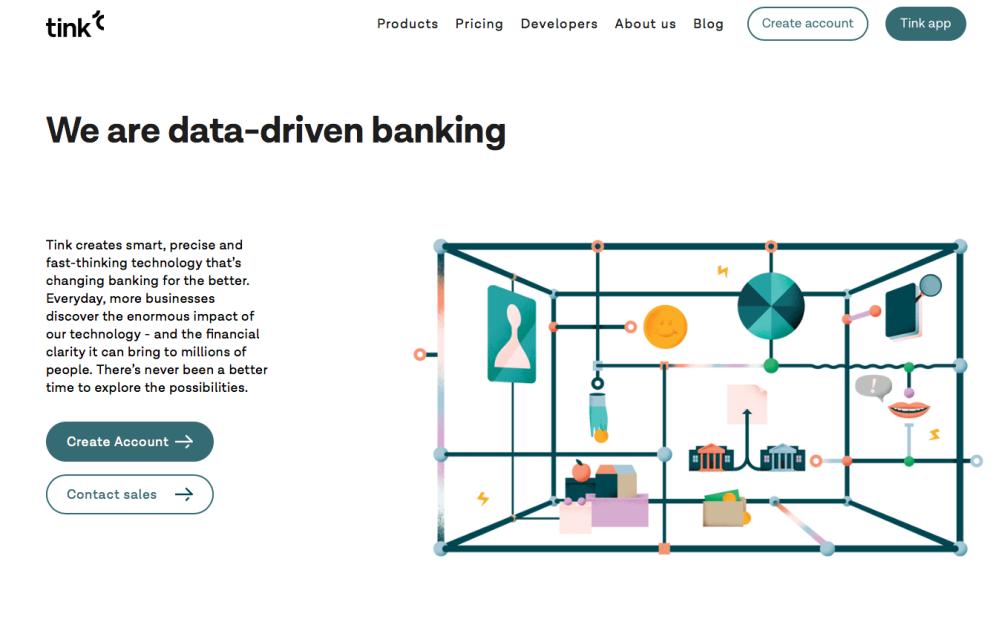 Tink API platform