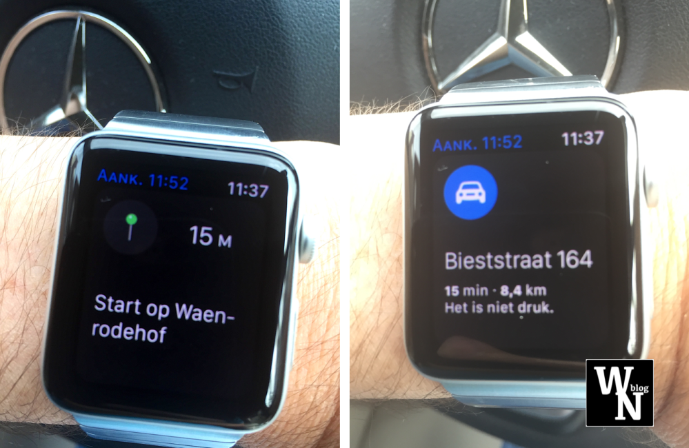 AppleWatch with Maps (WhatsNext)