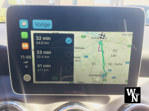 Waze Apple CarPlay overview (WhatsNext)