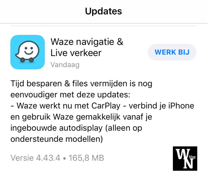 Waze CarPlay (WhatsNext)