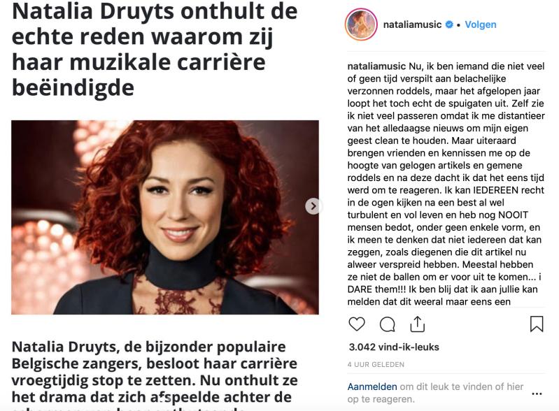 Natalia Fake News