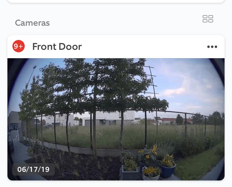 Ring doorbel app