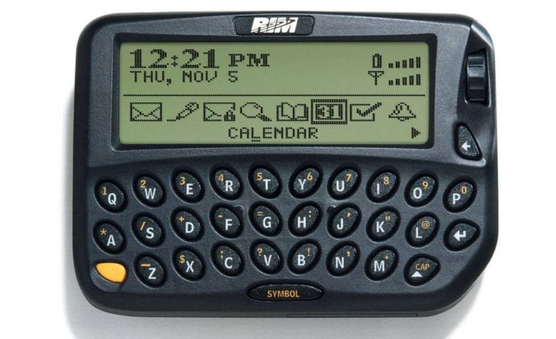 RIM pager