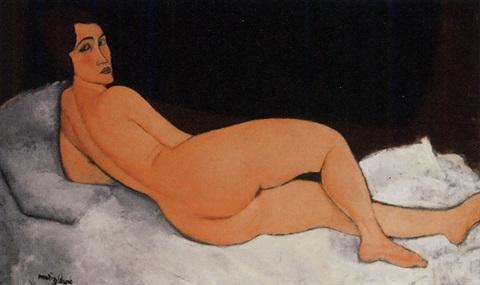 Amedeo Modigliani's 'Nu couché (sur le côté gauche)' (1917)
